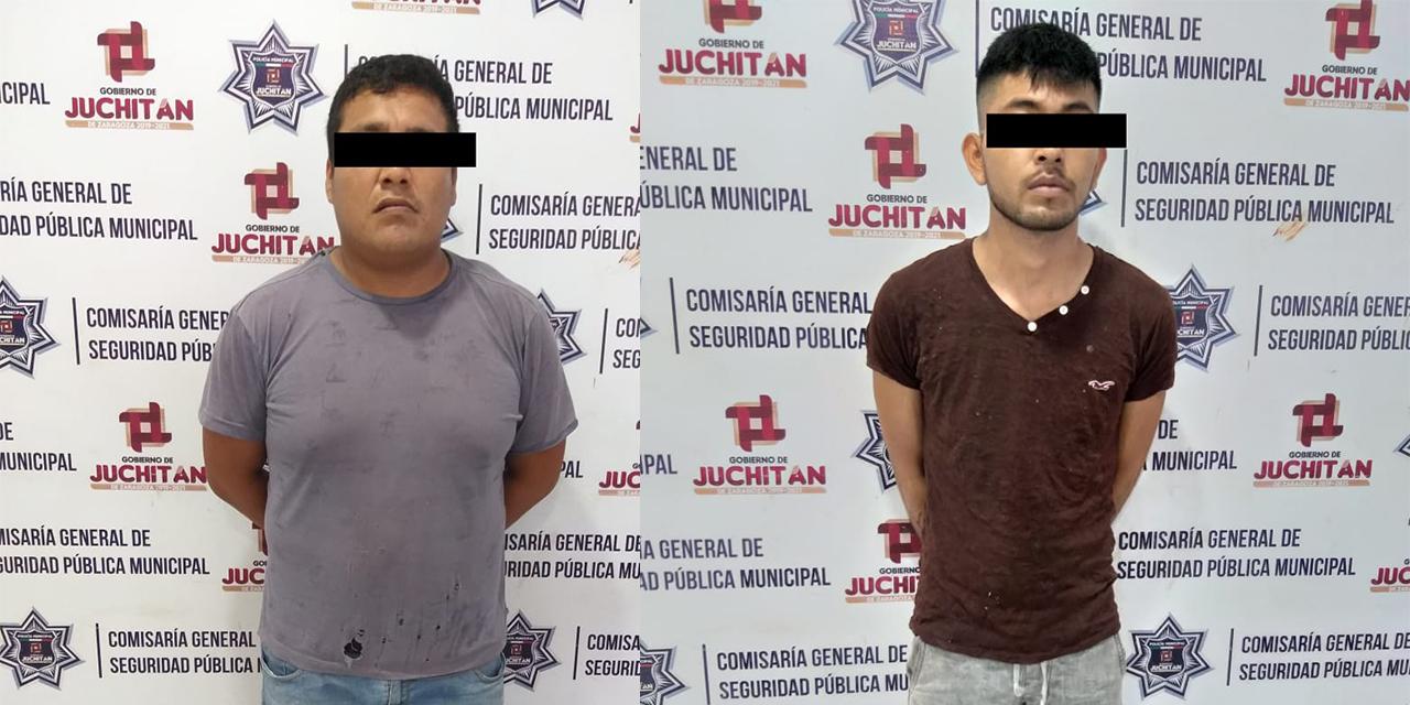 Detienen a dos presuntos asaltantes en Juchitán   El Imparcial de Oaxaca
