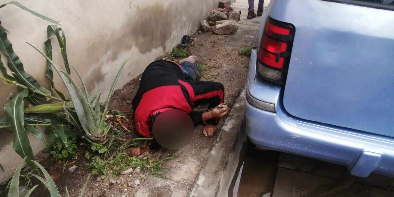 Encuentra la muerte en la calle de Colonia Calicanto   El Imparcial de Oaxaca