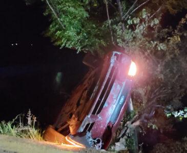 Volcadura mortal en Santa María Atzompa