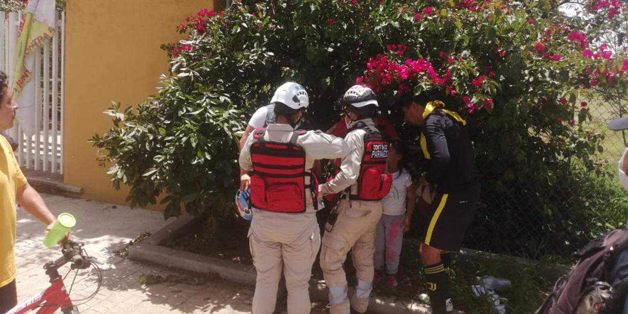 Bala perdida hiere a menor de edad en Reyes Mantecón | El Imparcial de Oaxaca