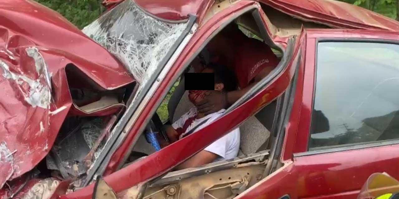 ¡Brutal encontronazo! | El Imparcial de Oaxaca