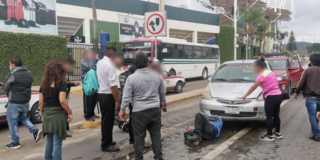 Video: Conductor ebrio arrolla a motociclistas en Oaxaca   El Imparcial de Oaxaca