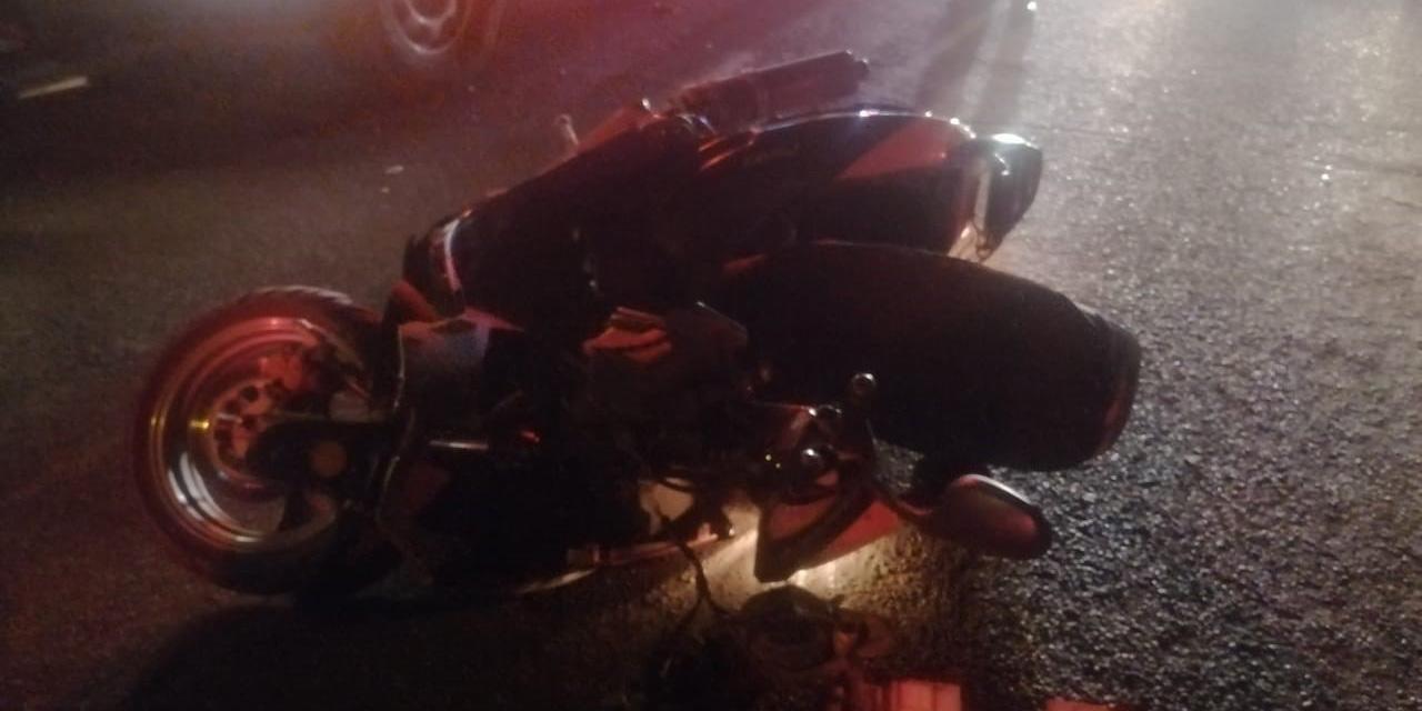 Motociclista lesionado en accidente de tránsito | El Imparcial de Oaxaca