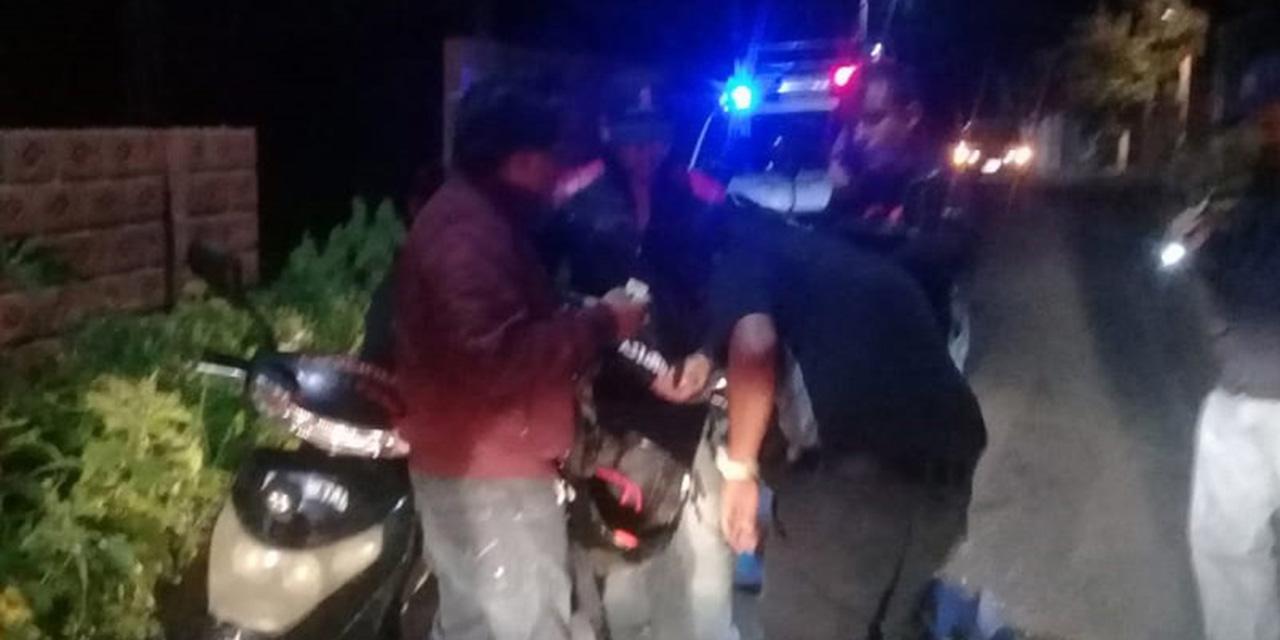 Derrapa en moto y se lesiona el cráneo | El Imparcial de Oaxaca