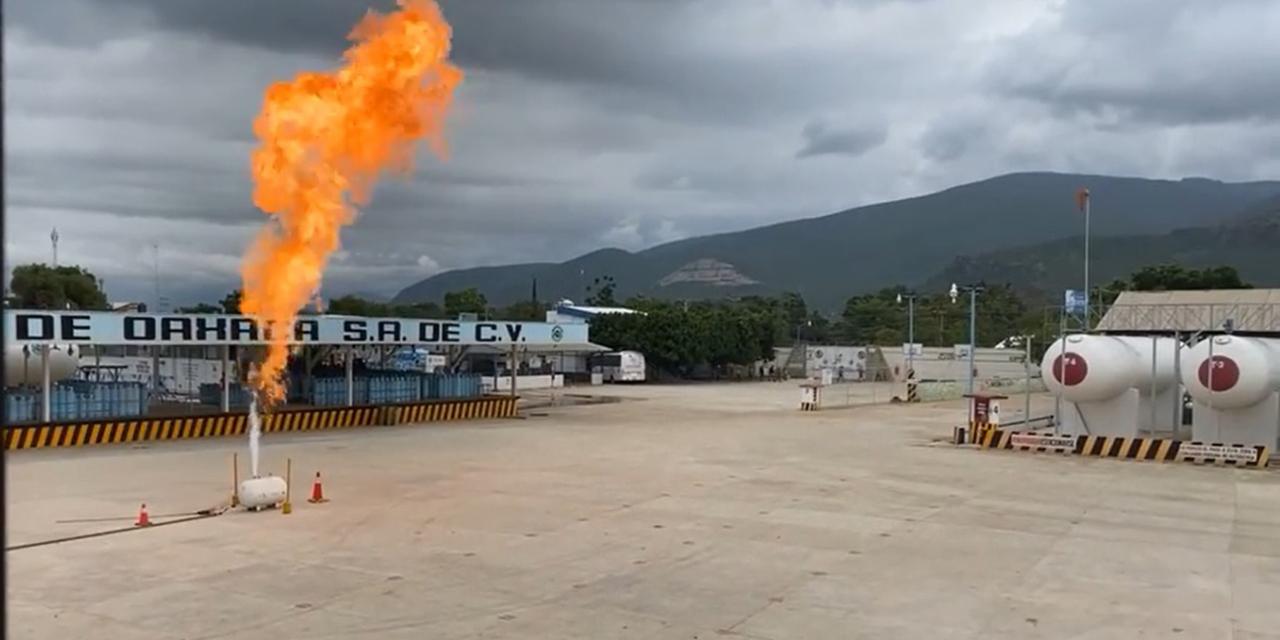 Simulacro contra incendio alarma a vecinos de gasera en Tlalixtac | El Imparcial de Oaxaca