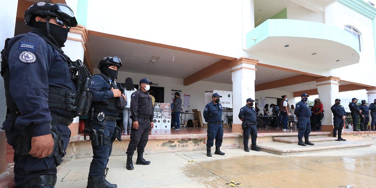 Jornada electoral en Viguera bajo tensión | El Imparcial de Oaxaca