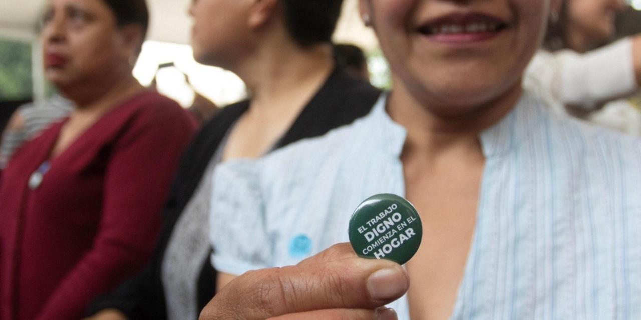 1 de cada 166 empleadas del hogar cuenta con seguro social | El Imparcial de Oaxaca