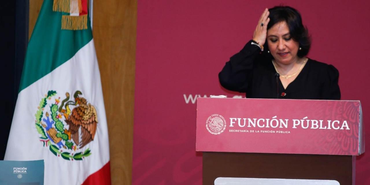 Irma Eréndira Sandoval deja la SFP; cumplió en combate a corrupción, destaca AMLO | El Imparcial de Oaxaca