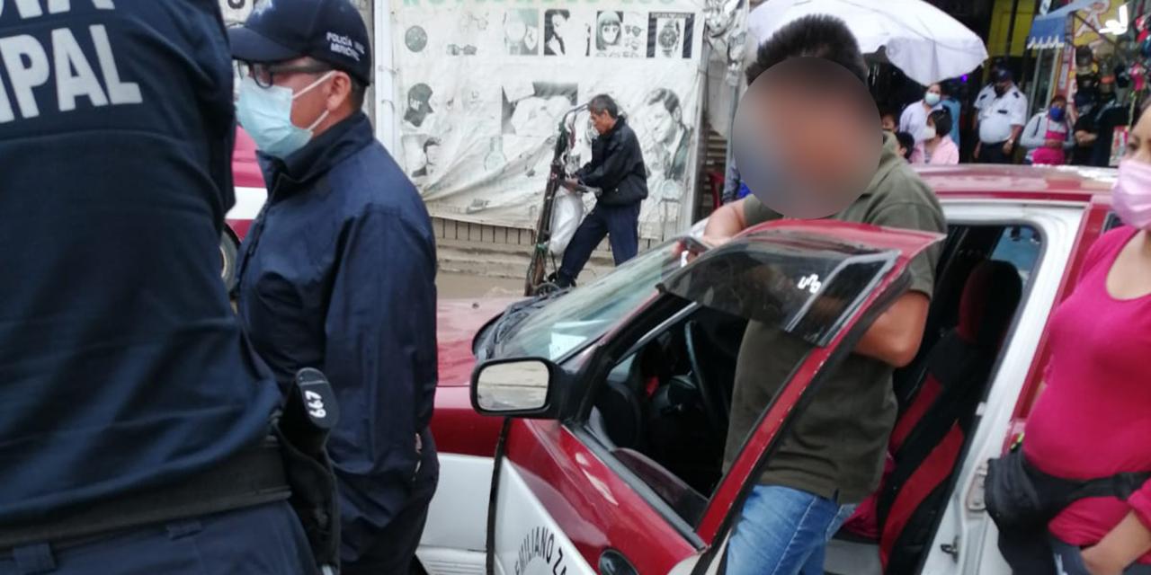 Frutera es arrollada por taxista foráneo en la Central de Abasto   El Imparcial de Oaxaca