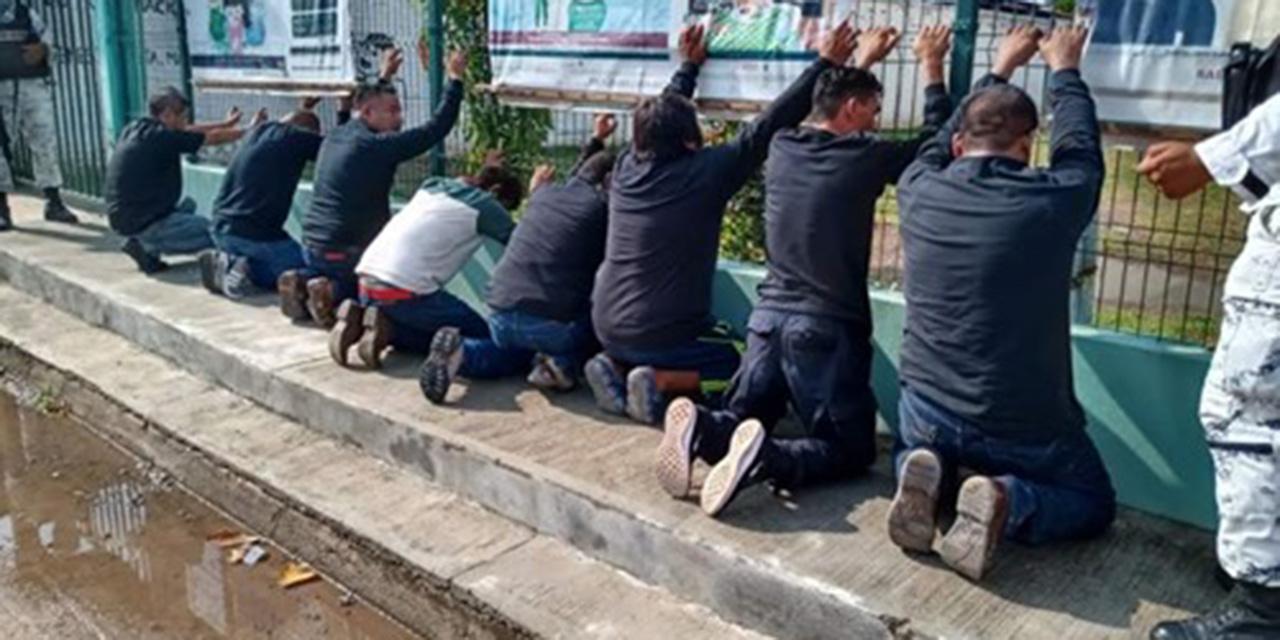 Guardia Nacional detiene a 10 juchitecos por disturbios en Xadani   El Imparcial de Oaxaca