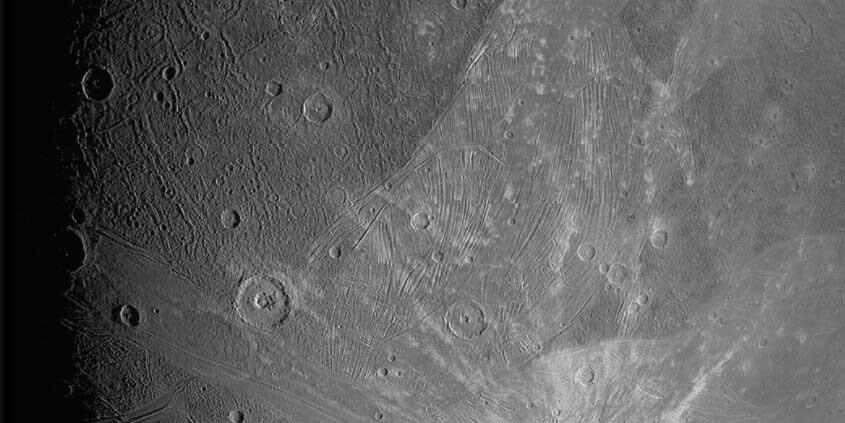 NASA muestra las primeras imágenes de Ganímedes, una luna de Júpiter | El Imparcial de Oaxaca