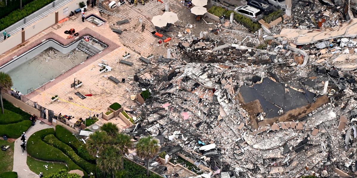 Edificio cercano al derrumbe de Miami fue evacuado por precaución   El Imparcial de Oaxaca