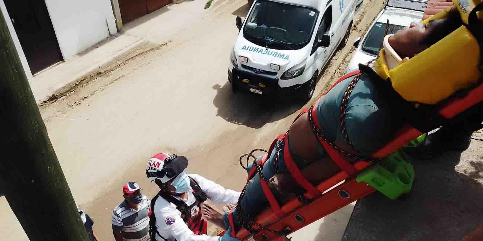 Grave obrero al sufrir descarga eléctrica en Miahuatlán | El Imparcial de Oaxaca