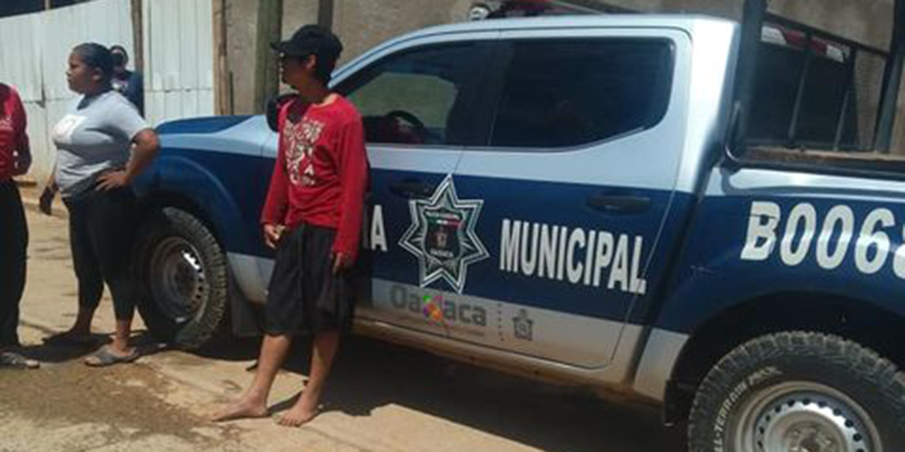 Denuncia impunidad en San Pedro Ixtlahuaca; policías ayudan a agresor a huir | El Imparcial de Oaxaca
