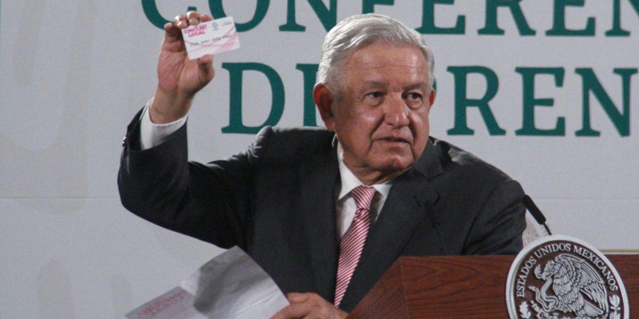 Anuncia AMLO que recibirá su Tarjeta de 65 y más | El Imparcial de Oaxaca