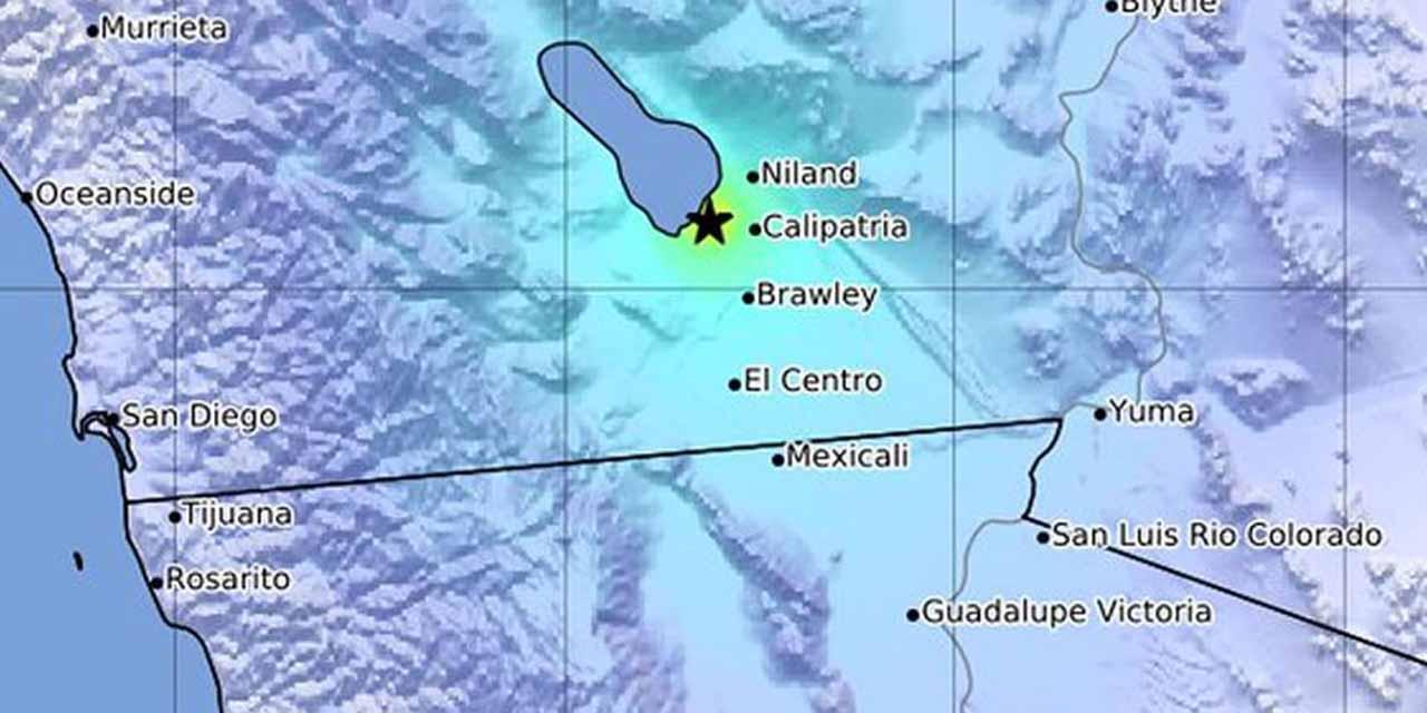 El sur de California es sacudida por sismo de magnitud 5.3 | El Imparcial de Oaxaca