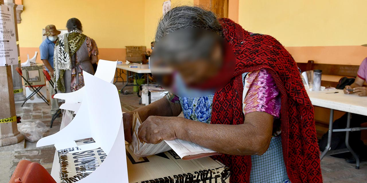 Sufragio sin contratiempos en Teotitlán y Santa Ana | El Imparcial de Oaxaca