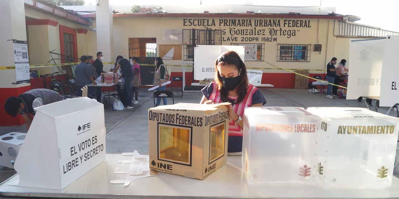 Se cierran casillas electorales en la capital oaxaqueña | El Imparcial de Oaxaca