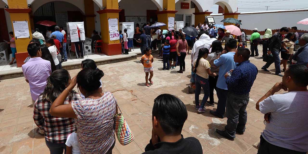 Igualar 70.3% de votación, el reto para jornada de hoy   El Imparcial de Oaxaca