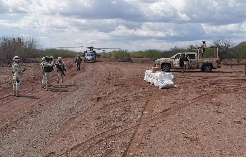 Ejército y Fuerza Aérea Mexicanos aseguran fentanilo y metanfetamina con valor de 270 mdp | El Imparcial de Oaxaca