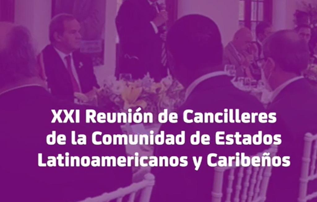 Reunión de Cancilleres de la Comunidad de Estados Latinoamericanos y Caribeños   El Imparcial de Oaxaca