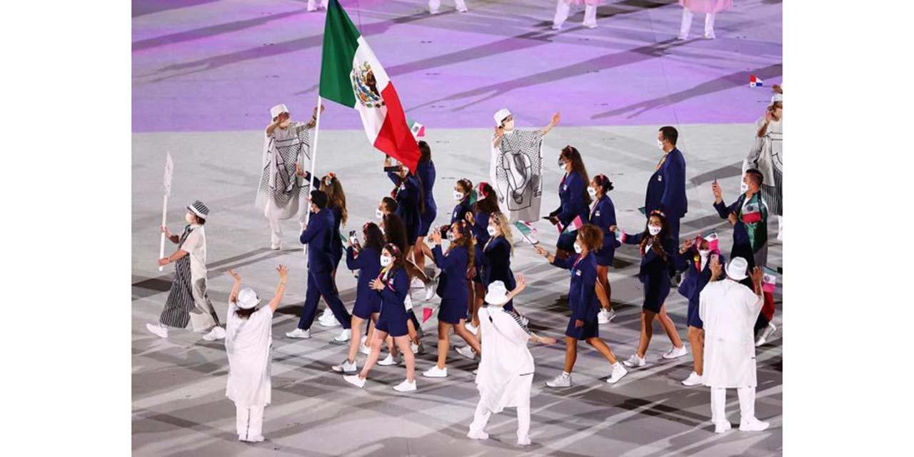 Así desfiló México en la inauguración de Tokio 2020 | El Imparcial de Oaxaca