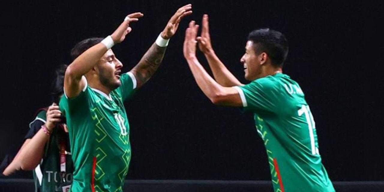 Tri olímpico golea y va ante Corea del Sur en cuartos de final   El Imparcial de Oaxaca