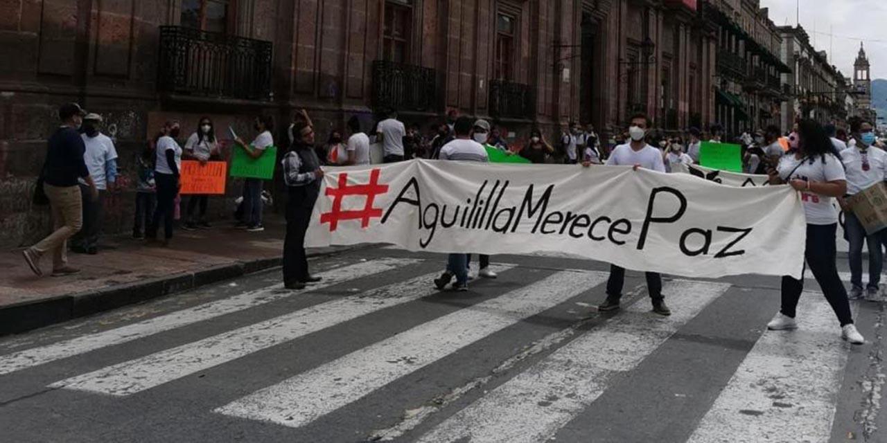 Pide AMLO a habitantes de Aguililla frenar enfrentamientos con militares   El Imparcial de Oaxaca