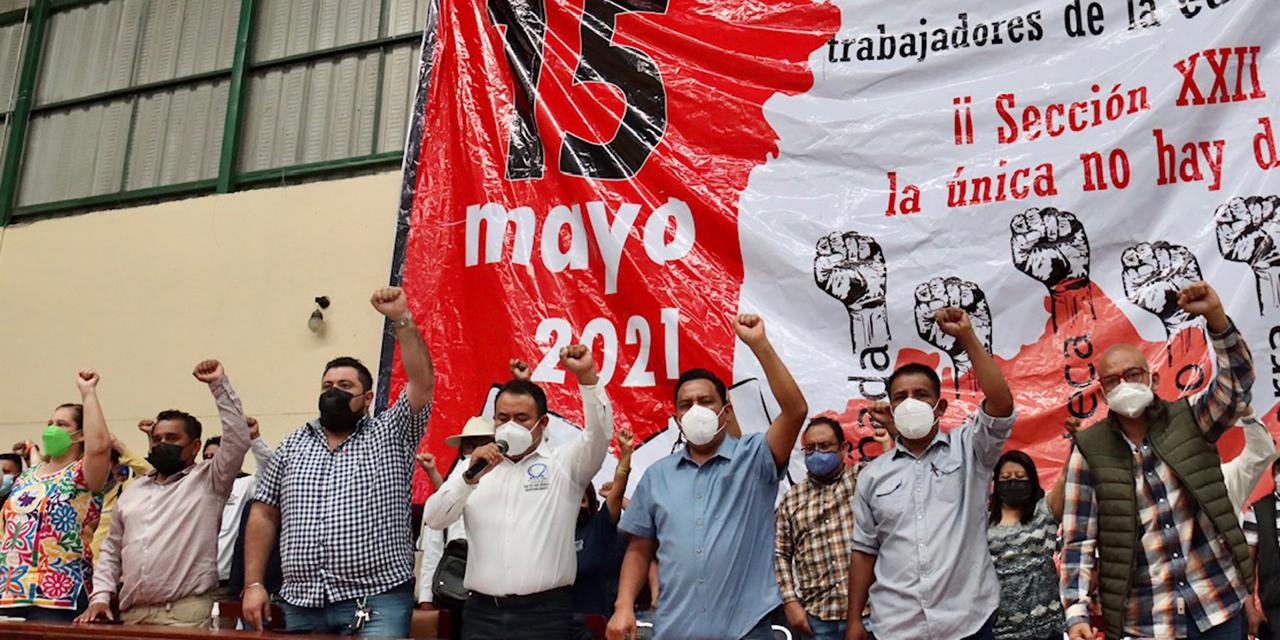 Para noviembre, relevo en la dirigencia de Sección 22 | El Imparcial de Oaxaca