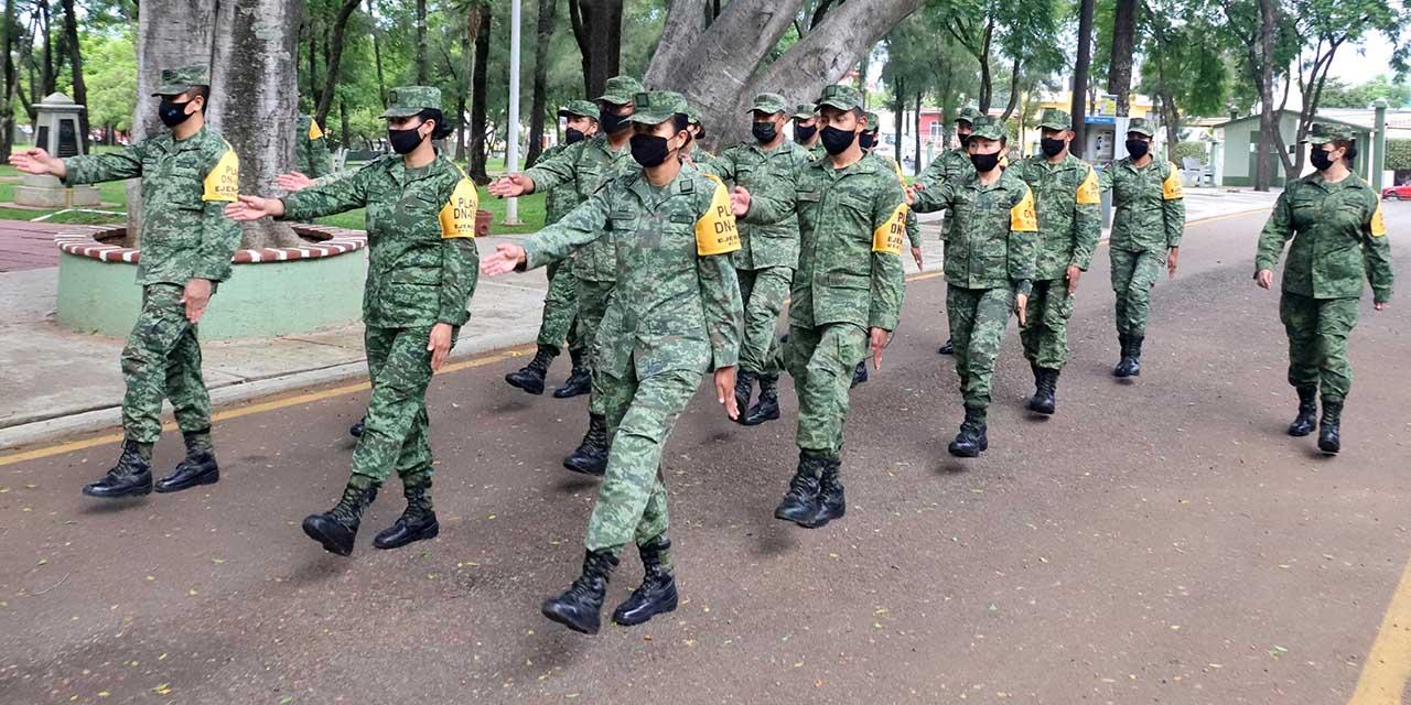 Crece presencia de mujeres en el Ejército Mexicano   El Imparcial de Oaxaca