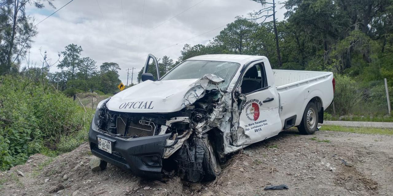 Fuerte accidente en carretera a Tlaxiaco   El Imparcial de Oaxaca