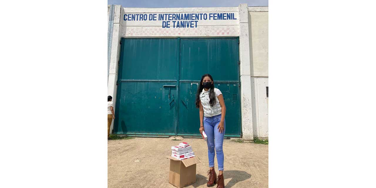 Entregan copas menstruales a Centro femenil de Tanivet | El Imparcial de Oaxaca