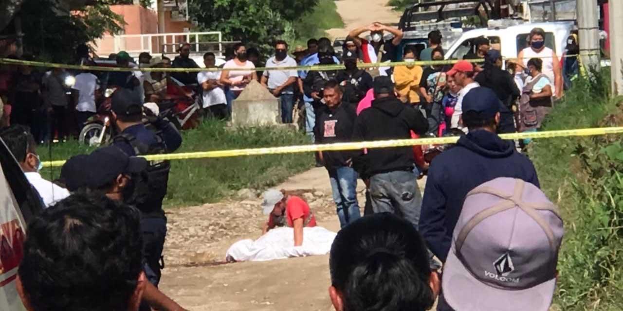 Asesinan a balazos a un hombre en jurisdicción de Etla   El Imparcial de Oaxaca