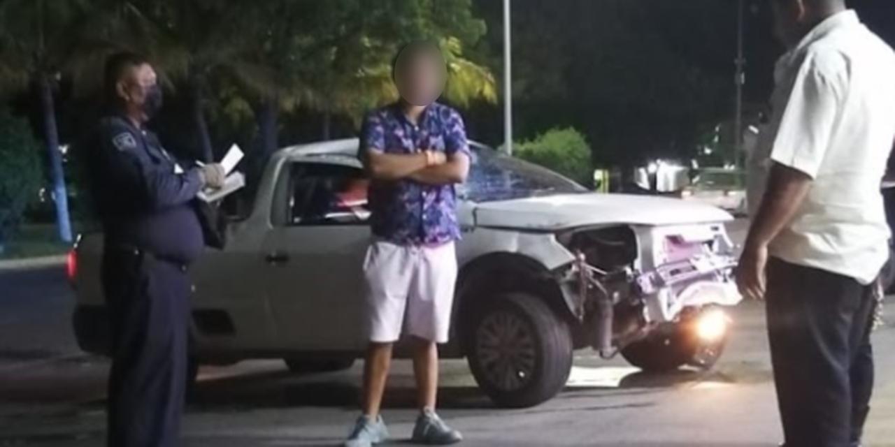 Persona en presunto estado de ebriedad provoca choque en Puerto Escondido | El Imparcial de Oaxaca