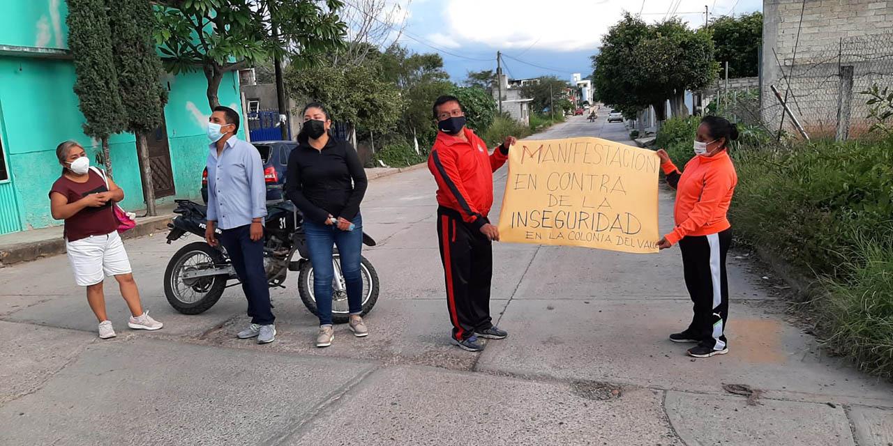 Colonia Del Valle se organiza contra la inseguridad | El Imparcial de Oaxaca