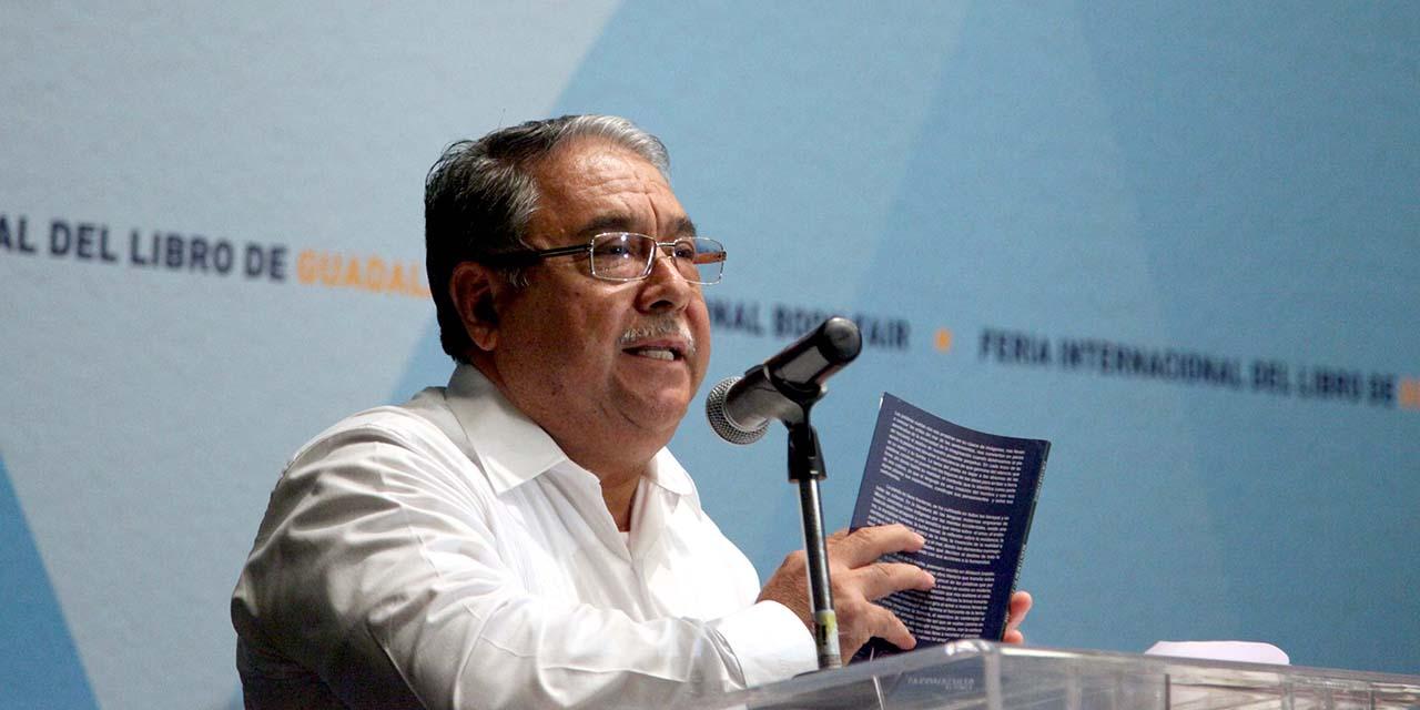 Un lenguaje sencillo, repleto de imágenes: Esteban Ríos   El Imparcial de Oaxaca