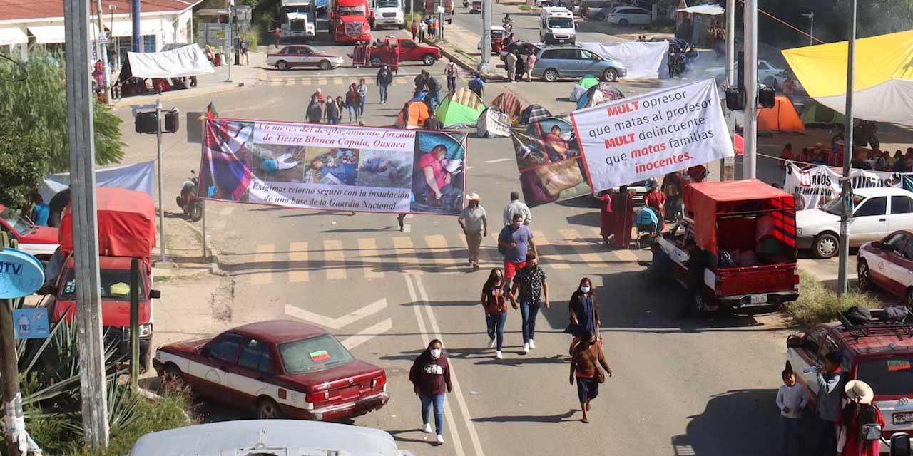 Desalojan a MULTI; liberan la carretera 190 | El Imparcial de Oaxaca