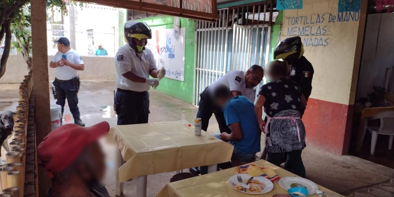 Lo balean mientras almorzaba en Xoxocotlán | El Imparcial de Oaxaca