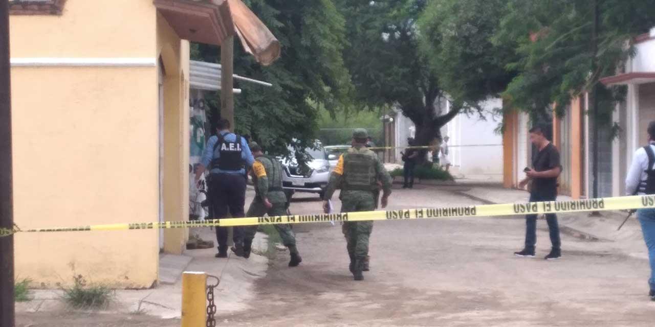 Balacera en San Sebastián Etla deja un muerto, un detenido y dos lesionados   El Imparcial de Oaxaca