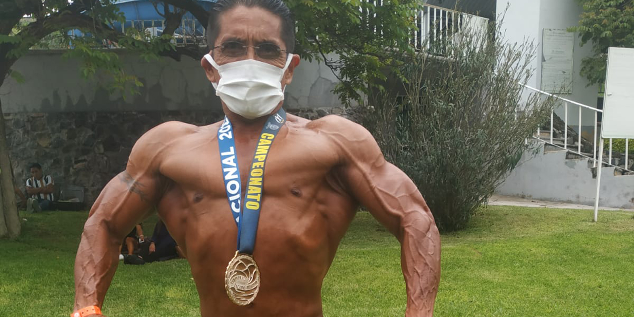 José Franco, con músculos de oro | El Imparcial de Oaxaca