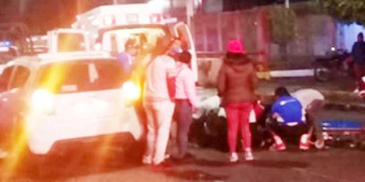 Sufre accidente a bordo de su moto en La Mixteca | El Imparcial de Oaxaca