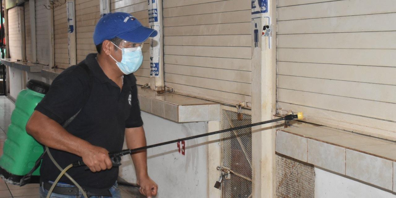 Sanitizan mercado Ignacio Zaragoza   El Imparcial de Oaxaca