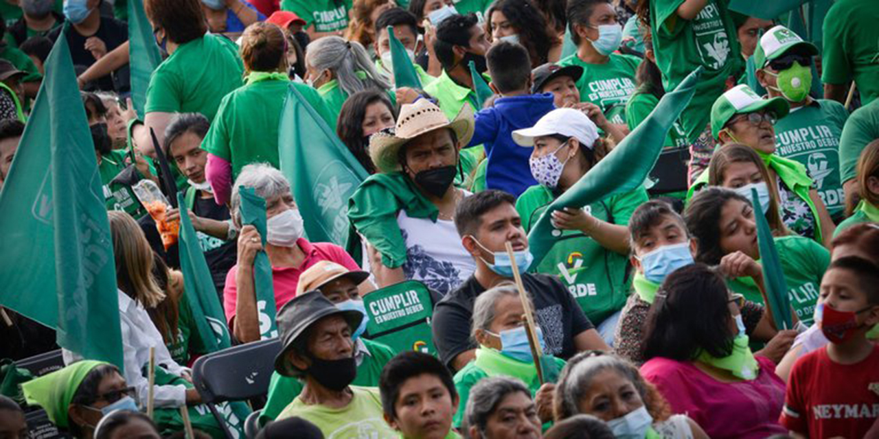 El Verde pagó 1 millón de dólares a 'influencers' | El Imparcial de Oaxaca