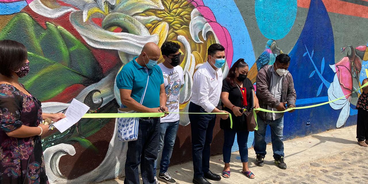 Inauguran mural sobre el medio ambiente en Barrio de Xochimilco | El Imparcial de Oaxaca