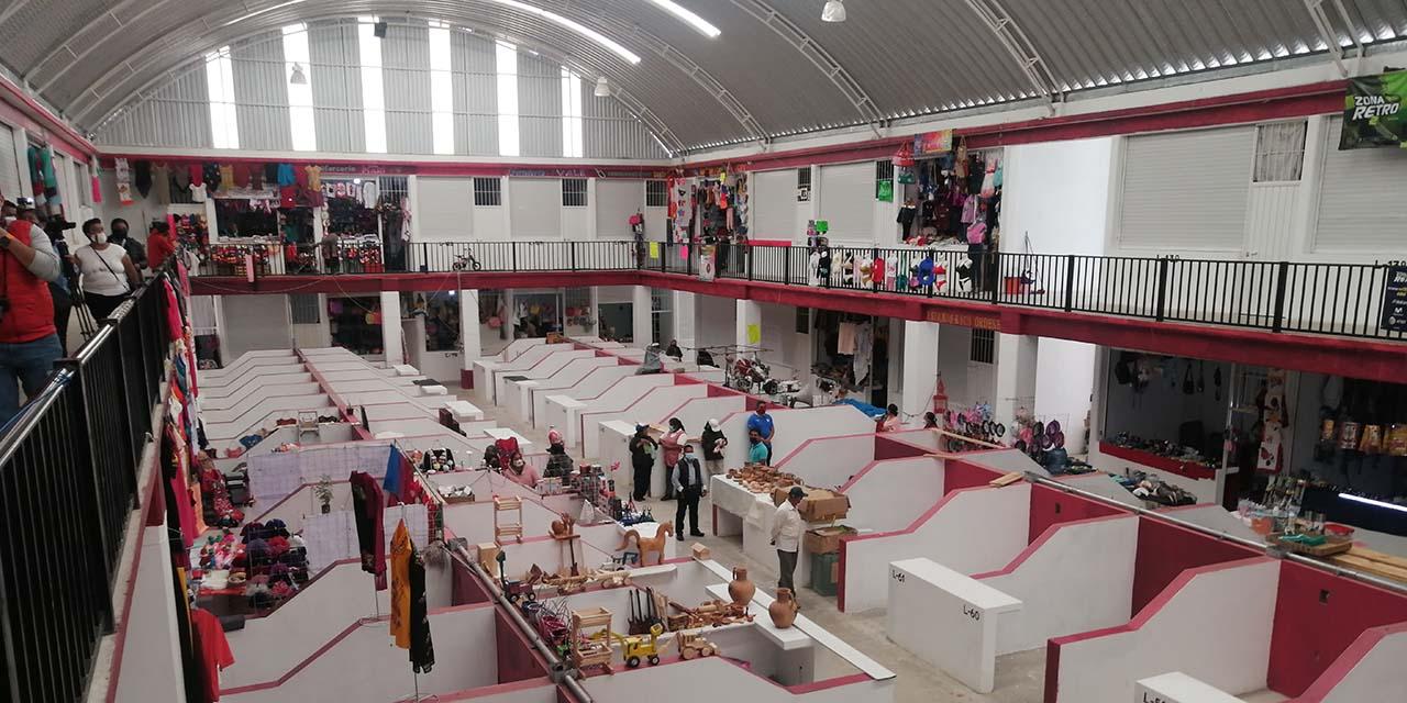 Entregan locales del mercado de Tlaxiaco | El Imparcial de Oaxaca
