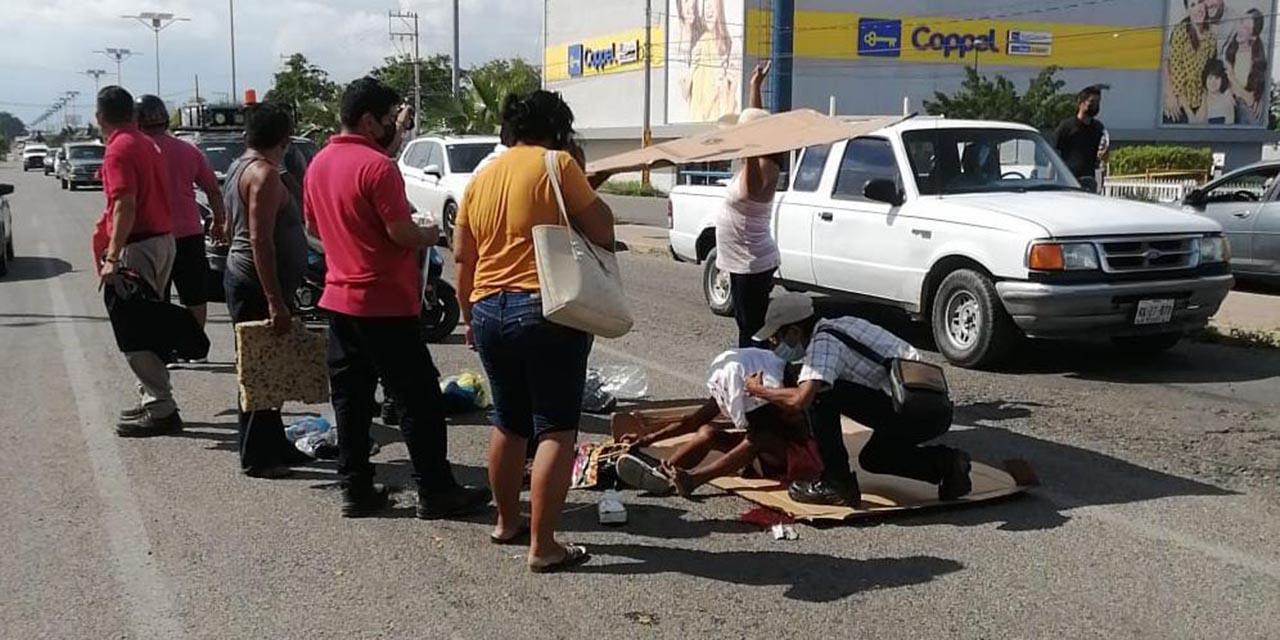 Se le cae cuero cabelludo en accidente en el Istmo   El Imparcial de Oaxaca