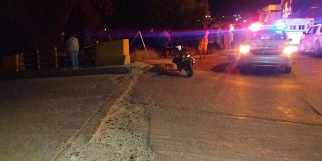 Taxi colisiona con menor motociclista en La Mixteca   El Imparcial de Oaxaca