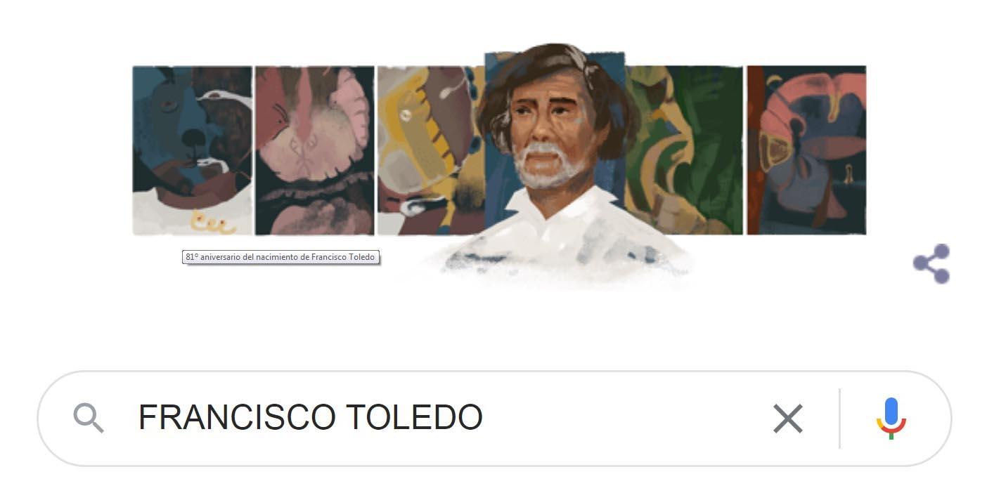 Celebra Google la vida y legado de Francisco Toledo | El Imparcial de Oaxaca