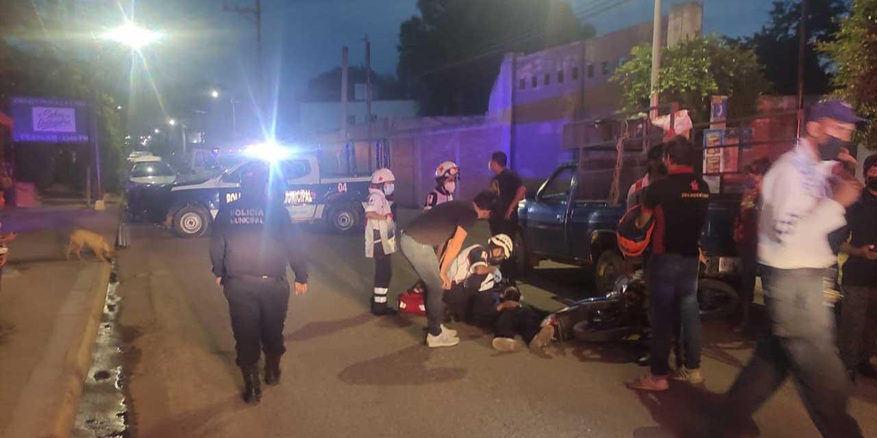Atropellado por camioneta particular rumbo a Yatareni   El Imparcial de Oaxaca