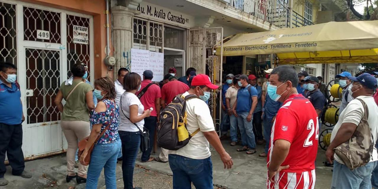 Piden salida del titular del SAP en Salina Cruz   El Imparcial de Oaxaca